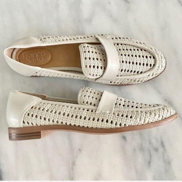 Franco Sarto Shoes | Woven Faux Leather